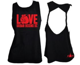 Double Braid Tank Top, Black - Love UBDC